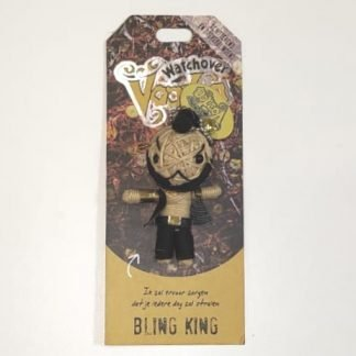 voodoo poppetje bling king