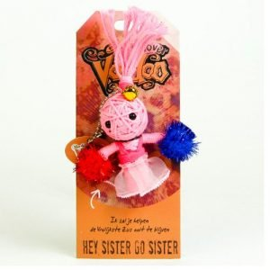 voodoo poppetje hey sister go sister